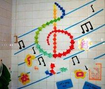 幼儿园音乐教室环境布置:唱歌天地图片