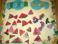 幼儿园节日布置图片  幼儿园冬天墙面装饰:冬天来了图片