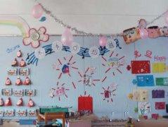 幼儿园冬天主题墙图片