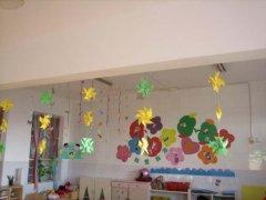 幼儿园教室布置吊饰图片