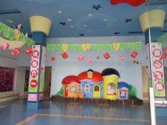 幼儿园六一儿童节教室节日布置图片