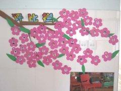 幼儿园评比栏布置图片
