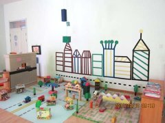 幼儿园建构区角环境创设图片图片