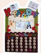 幼儿园小班日历主题墙面装饰图片