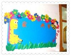 优发娱乐中班家园共育栏装饰图片