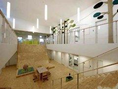 幼儿园大厅楼梯设计案例图片图片