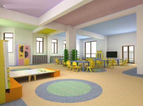 经典幼儿园环境布置图片:多彩可爱的世界(3)
