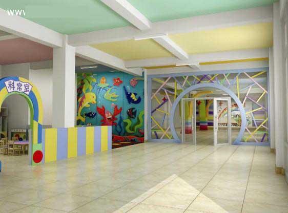 好看的幼儿园教室环境布置图片:可爱的童真(2)