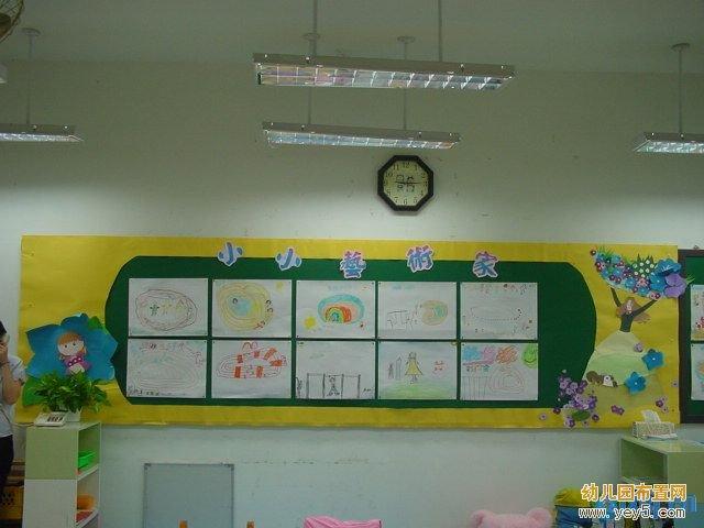 幼儿园主题墙边框设计图片展示