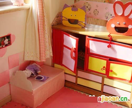 幼儿园休息室区角布置:尽显可爱