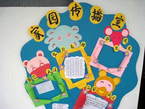 共育设计栏幼儿园家园共育栏装饰幼儿园家园共育