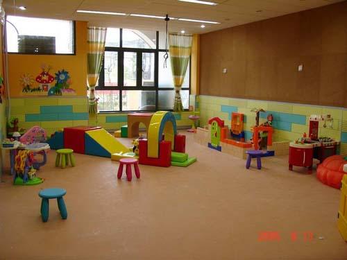 幼儿园活动室设计:儿童游乐园