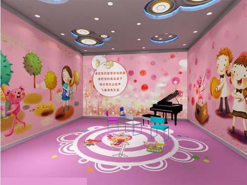 幼儿园音乐教室布置 儿童欢乐