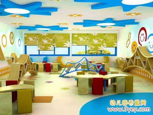 幼儿园室内环境布置一角