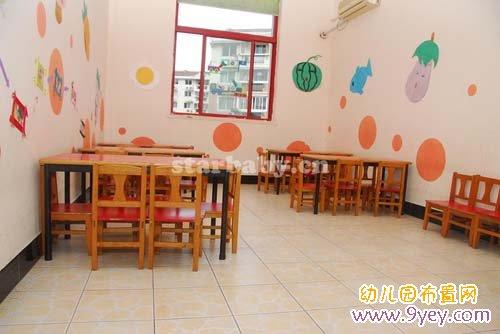 幼儿园生活环境布置 餐厅