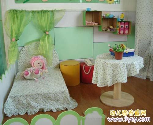 幼儿园活动区域环境设计图展示