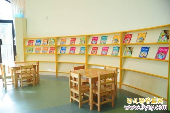 幼儿园图书室环境布置:宽敞明亮