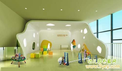 幼儿园活动室效果图:宽敞有创意