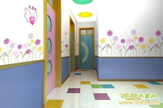 幼儿园卫生间装饰:清新可爱