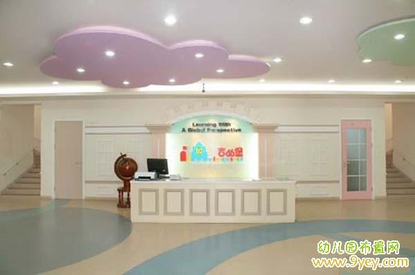 贵族幼儿园门厅环境布置图片:高端大气