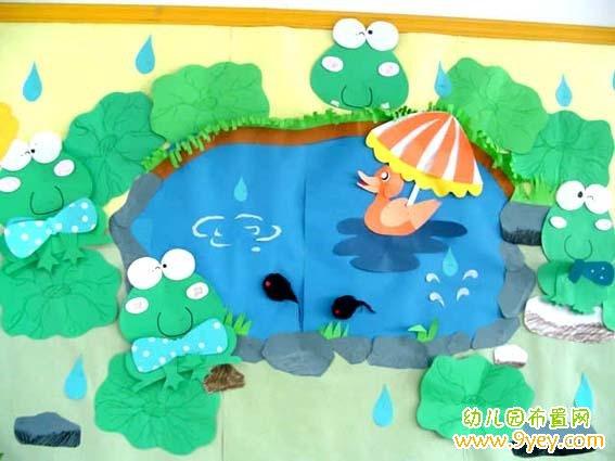 幼儿园夏天简笔画彩色
