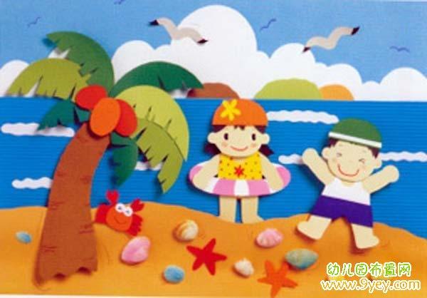 幼儿园小班教室墙面布置图片06