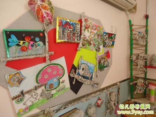 幼儿园小班美工区环境布置