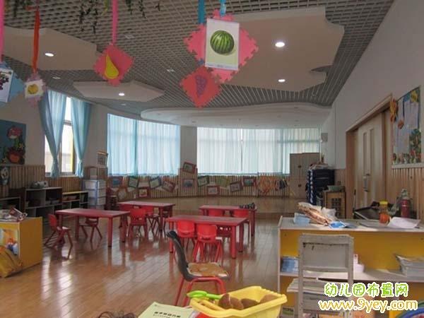 幼儿园教室布置设计图片