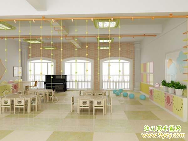 高档幼儿园教室布置
