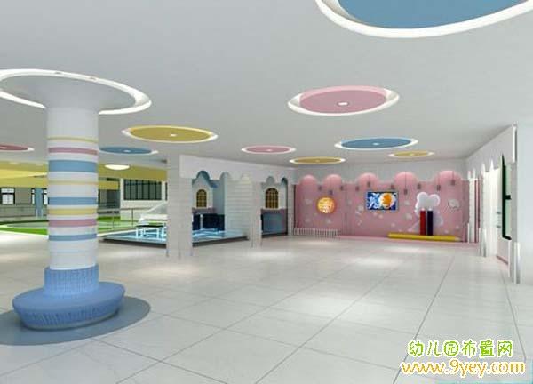 幼儿园大厅装修效果图