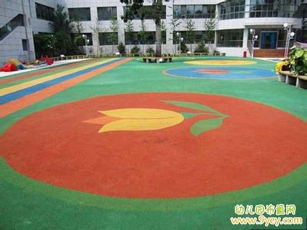 幼儿园室外活动场地设计:操场