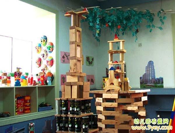 幼儿园建构区步骤图_幼儿园建构区规则图