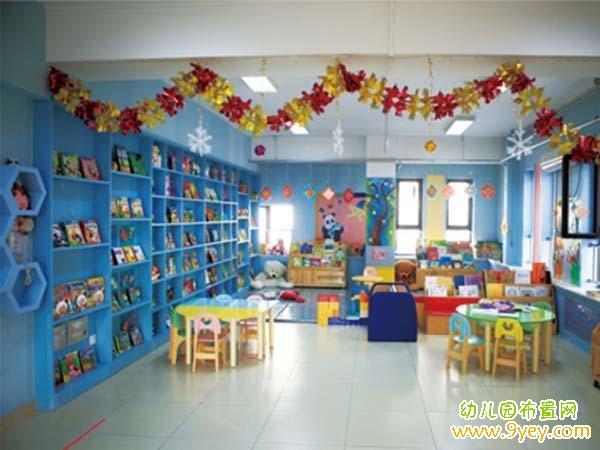 幼儿园托班教室环境布置