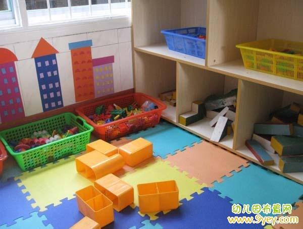 幼儿园小班建构区布置