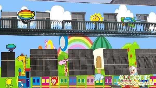 幼儿园外墙装饰_幼儿园外墙装饰图案_幼儿园布置网