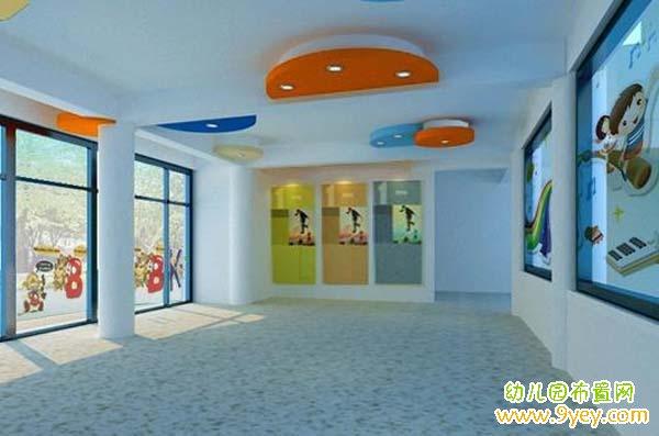 新学期幼儿园门厅环境装饰设计