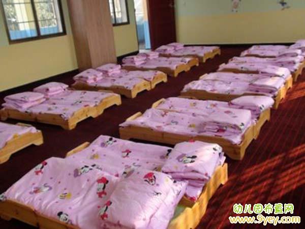 幼儿园午睡室环境创设