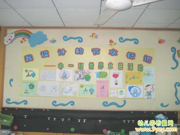 幼儿园大班主题墙布置