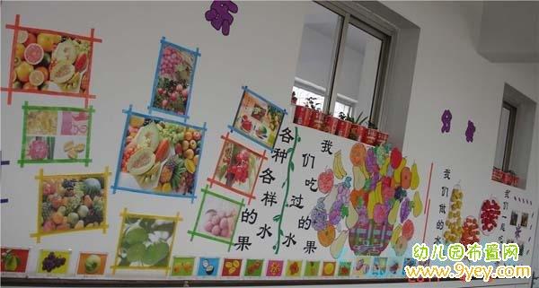 幼儿园墙壁中国风手工装饰