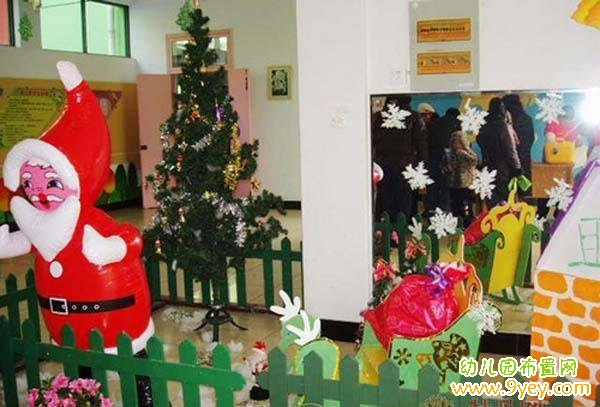 圣诞节环境布置_幼儿园圣诞节环境布置_幼儿园布置网