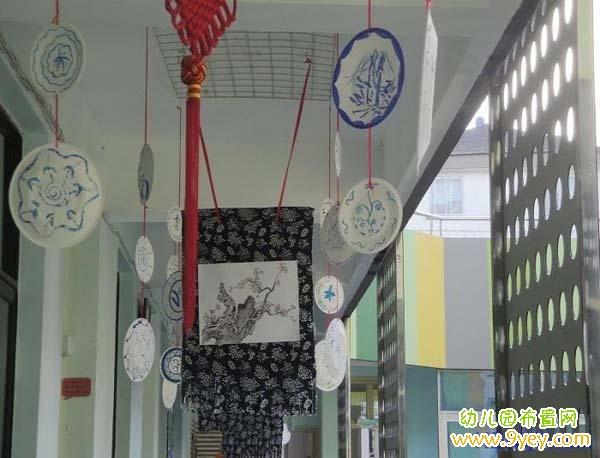 幼儿园中国风吊饰装饰