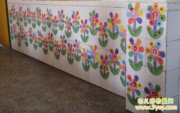 幼儿园红花台设计图片