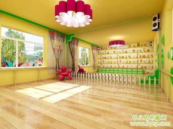 国外幼儿园舞蹈室布置图片图片