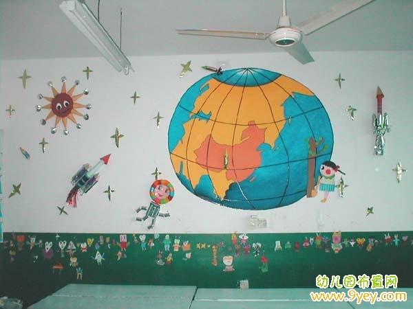幼儿园科学室墙面布置图片图片