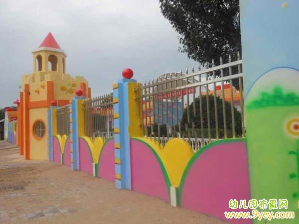 幼儿园手工边框装饰