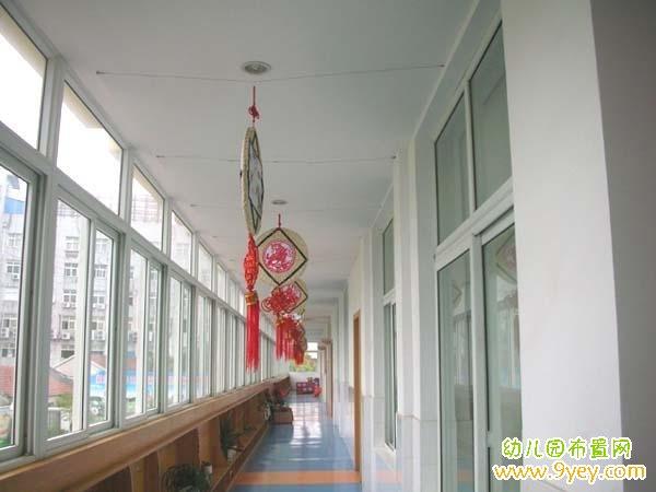 幼儿园楼道中国风挂饰装饰图片