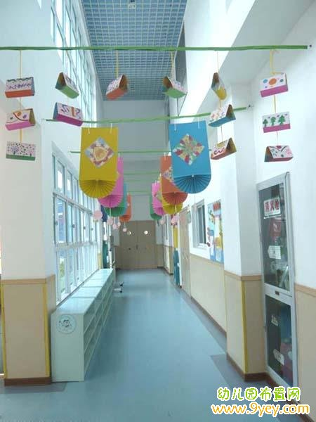 幼儿园楼道吊饰装饰设计
