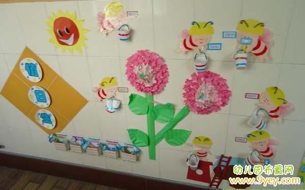 幼儿园大班漂亮的值日生墙饰布置