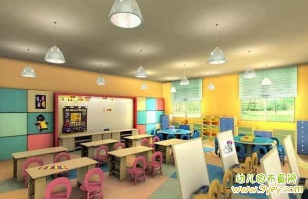 幼儿园教室室内设计图片