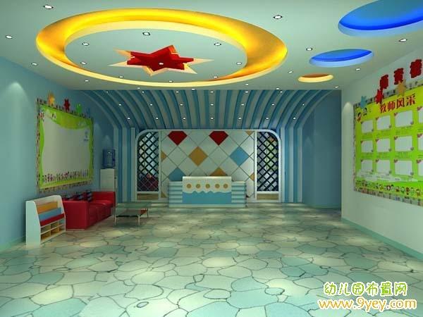 幼儿园室内小舞台设计图片展示